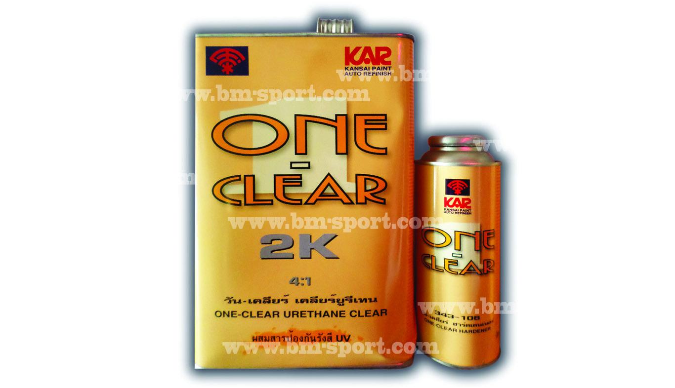 KAR Kansai ONE Clear 2K 4-1 + Hardener