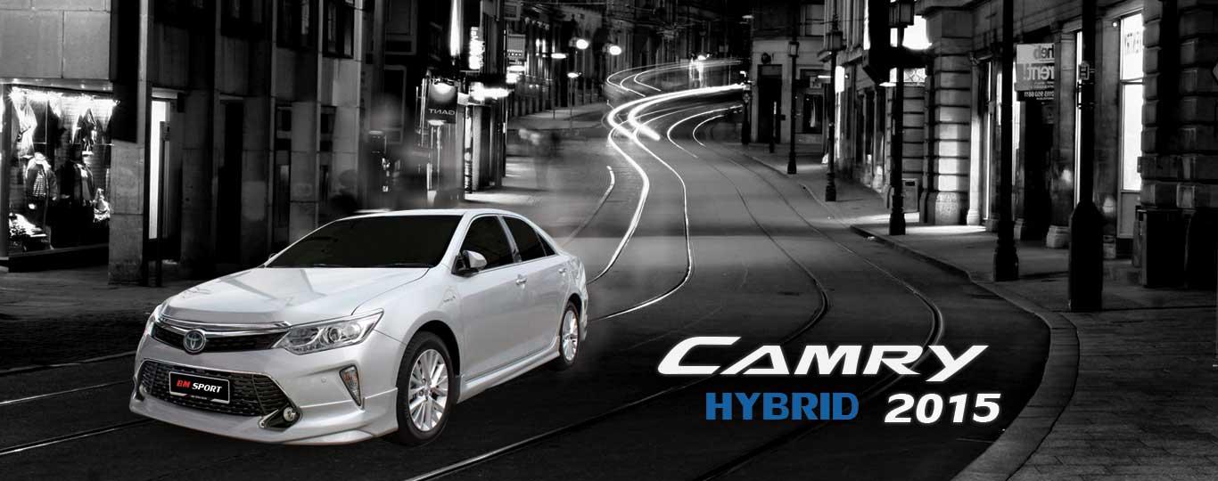 camry hybrid 2015 - bm sport