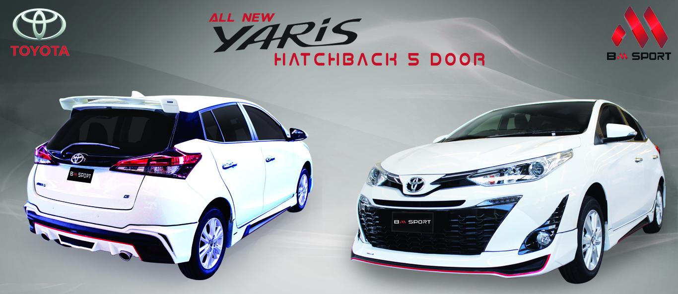 YARIS  ATIV  5  DOOR